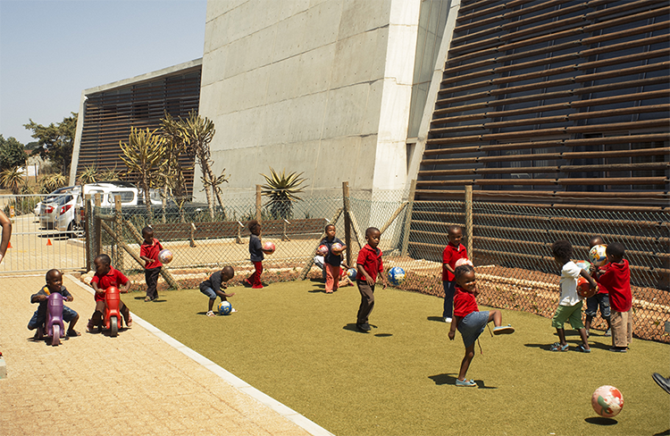Children Playing at the Ubuntu Centre