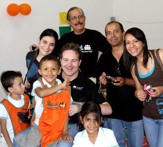 The Dan Eley Foundation team in Columbia